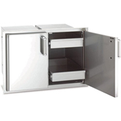 Fire Magic Echelon Double Access Doors with Two Dual Drawers