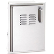 Fire Magic Echelon Single Access Door with Tank Tray & Louvers (Right or Left Swing)