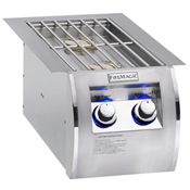 Fire Magic Echelon Diamond Double Side Burner - Built-In