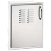 Fire Magic Aurora Single Access Door with Tank Tray & Louvers (Right or Left Swing)