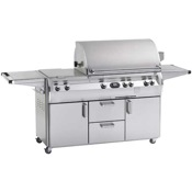 Fire Magic Echelon Diamond Series E660 Cabinet Grill with Double Side Burner